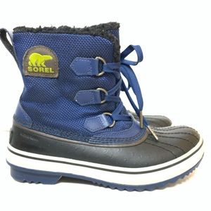 Sorel Black & Blue Trivoli Boots